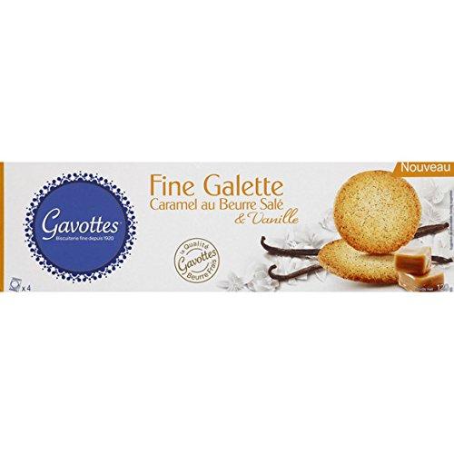 gavottes Fine galette caramel au beurre salé & vanille - ( Prix Unitaire ) - Envoi Rapide Et Soignée