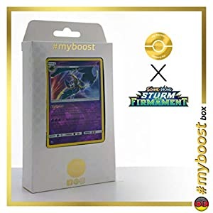 Lunala 70/168 Holo Reverse - #myboost X Sonne & Mond 7 Sturm Am Firmament - Box de 10 Cartas Pokémon Alemán