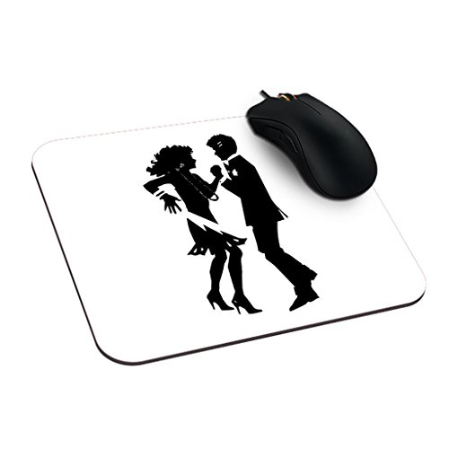 dreameroom Couple Dancing Silhouette Cool Mauspad Maus Pad Druck (Dancing Silhouette)