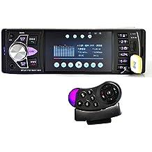 Sannysis Car Video Radio 4 pulgadas HD TFT pantalla Bluetooth / Radio FM estéreo / MP4 / MP5 + Control Remoto del Volante