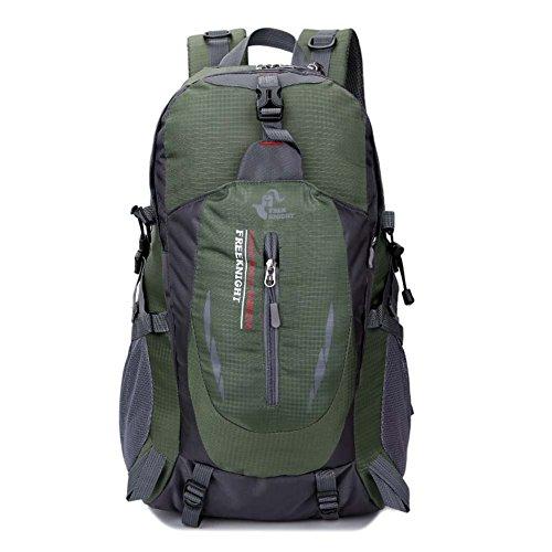 Imagen de huntvp  de alpinismo  deportiva gran  impermeable 40l para las actividades aire libre, senderismo, caza ,viajar, color verde militar