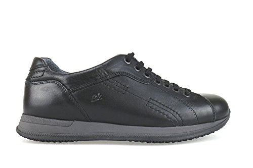 BRAKING sneakers uomo pelle (39 EU, Nero)