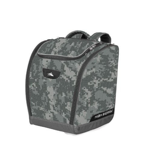 Boot Bag Box (High Sierra Deluxe Trapez Boot Bag Stiefeltasche, unisex, Cool Gray Digicamo)