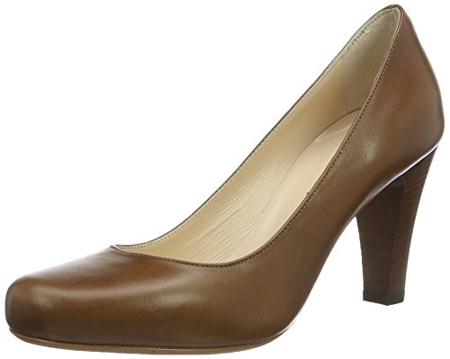 Evita Shoes Damen Maria Pumps, Braun (Cognac 26), 40 EU