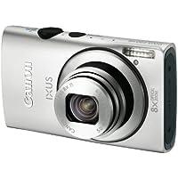 Canon IXUS 230 HS Digital Camera - Silver (12.1 MP, 8x Optical Zoom) 3.0 inch LCD