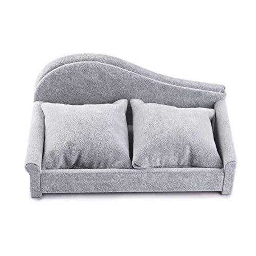 Preisvergleich Produktbild JeweR Schmuck Ausstellungsstand Bracket Tray Multifunktions Aufbewahrungsbox Flanell Sofa Bank Stuhl Form