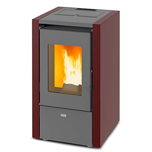 Divina Fire Pelletofen 6 kW belüftet Heizung 145 mc ADELINA60 -