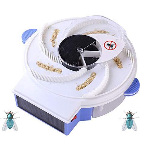 YOLE Elektrische Fliegenfalle Gerät, Bug Zapper Elektronische Insektenvernichter Insektenvernichter Insektenvernichter Fliegenfänger mit USB-Anschluss Indoor Moskitos Fly Pest Catcher für,solar