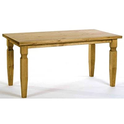 Core Products CR799 Classic Corona Small Square Dining Table - Rustic Pine - low-cost UK light store.
