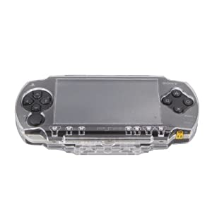 OSTENT Schutzhülle, transparent, Reisehülle, Hardcoverhülle, Gehäuse, kompatibel für Sony PSP 1000 Spielekonsole