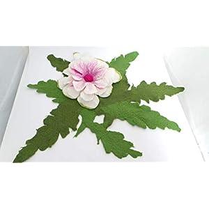 Tischset - Tischläufer aus Filz - Platzset Filzblume