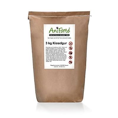 AniForte Kieselgur 3 kg - versch. Größen - Naturprodukt für Tiere von Görges Naturprodukte Gmbh bei Du und dein Garten