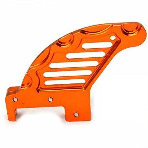 Motorrad Hintere Bremsscheiben Schutz für Alle Modelle von KTM, KTM EXC 125 144 150 200 250 300 450 Husaberg TE 125 250 300 Husqvarna TC FC TE FE Husaberg FE FS FX 250 350 390 450 501 570(Orange) Test