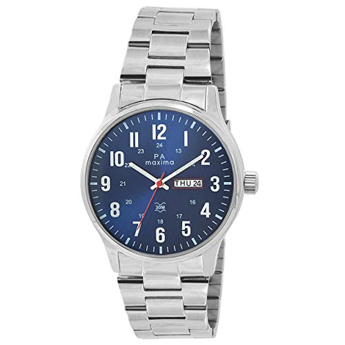 MAXIMA Analog Blue Dial Men's Watch - O-52001CMGI