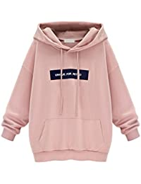 Etosell Femmes Pull En Velours Hoodie Sweat-Shirt Capuche Manteau Pull Pullover