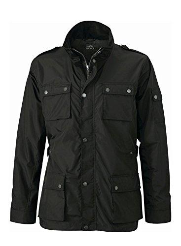 Men's Urban Style Jacket in black Size: L