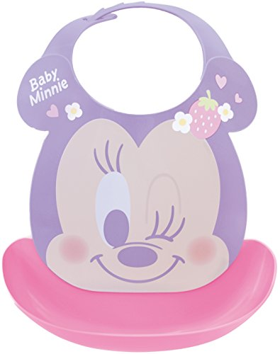 Baby Minnie First grembiule Eat Spill cattura pasto bavaglino (Japan Import)