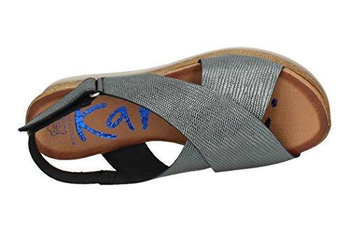 KARRALLI Donna sandali Piombo