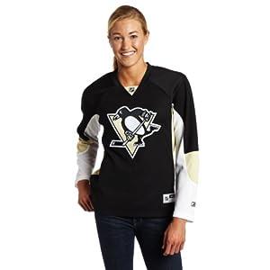 adidas NHL Pittsburgh Penguins Damen schwarz NHL Premier Jersey