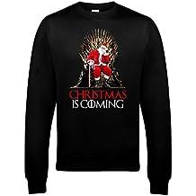 Reality Glitch's Men's Christmas Is Coming Sweatshirt.