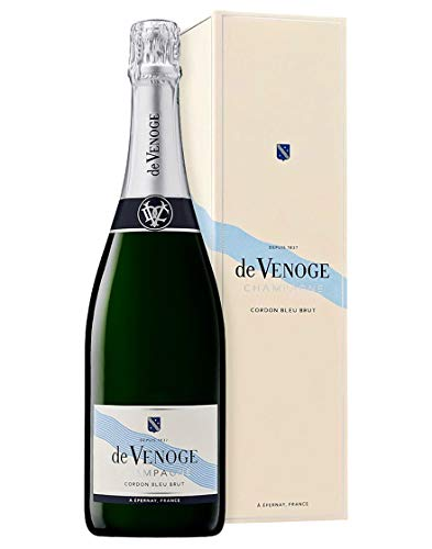 Champagne AOC Brut Cordon Bleu De Venoge 0,75 L Astucciato