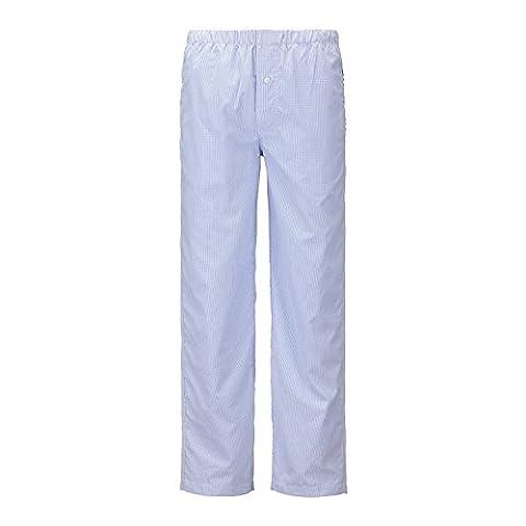 Janeo Men's Pyjamas - Bas de pyjama - Homme - bleu - Small