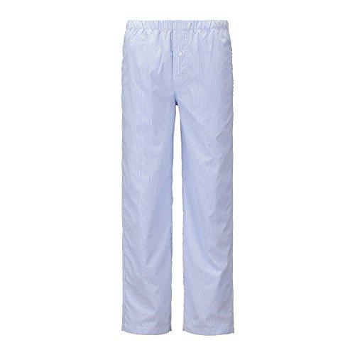 janeo-mens-pyjamas-pantalon-de-pijama-para-hombre-azul-azul-cheque-small