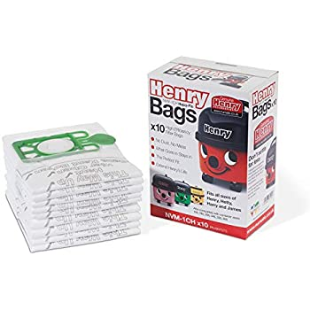 10 PACKS OF 10 GENUINE VACUUM BAGS NUMATIC HEPAFLO NVM-4BH NVM4BH NVM4B 604019