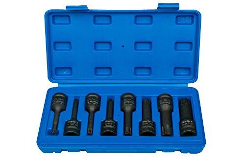 Bluespot 8pc Auswirkungen Torx Bit 1/5,1cm Drive Socket Set T30?T8001506 -