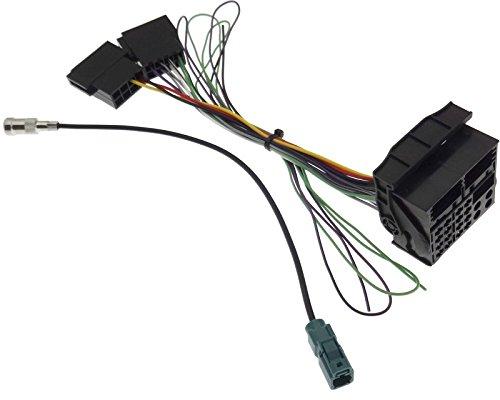 Adapter NAVI Antenne Kabel Radio Stecker kompatibel mit VAG MFD2 RNS2 Radio RCD300 RCD500 Delta6