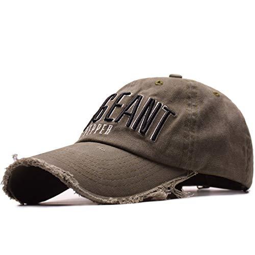 FDHNDER@ Baseball Cap- Snapback Baseballkappe -Trucker Cap Kappen -Mütze-Basecap-Baseball Mützen für Draussen, Sport oder auf Reisen Stickerei Mode Männer und Frauen Kappen Buchstaben, dunkelgrün