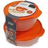 "Joseph Joseph ""m-cuisine Mikrowelle Cool-Touch"" SET, orange"
