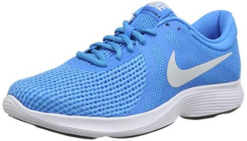 new style 5bc29 d3b91 NIKE Men s Revolution 4 EU Fitness Shoes, Multicolour Hero Pure  Platinum Blue Glow