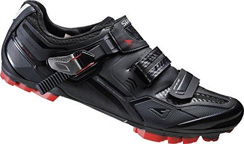 Shimano Chaussures MTB Chaussures de moto de vélo Adulte SH-1xc70l Gr. 38SPD Velcro/ratschenv. Cf, E shxc 70l38 mehrfarbig