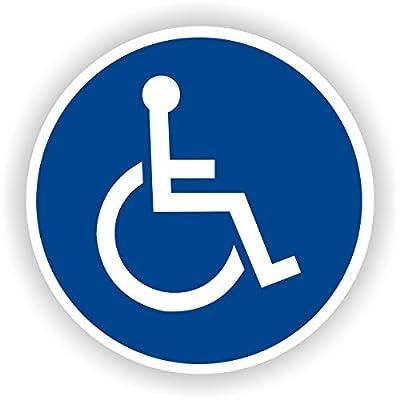 Für Rollstuhlfahrer / Gebotszeichen / GE-42 / Sicherheitszeichen / Piktogramme / DIN EN ISO 7010