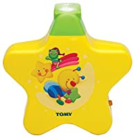TOMY First Years Starlight Dream Show Yellow - Lights and sounds nightlight for children