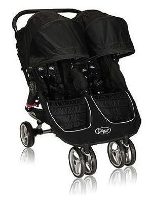 Baby Jogger - Silla de Paseo City Mini Gemelar rojo