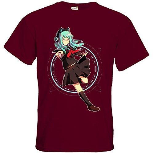 getshirts - Pandorya Shop - T-Shirt - Modus Yandere Burgundy