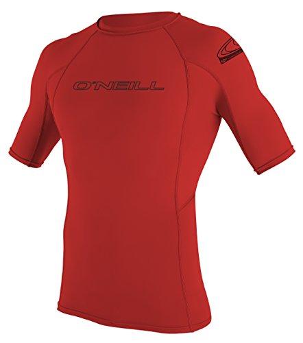 oneill-wetsuits-herren-uv-schutz-basic-skins-s-s-crew-red-l-3341-020