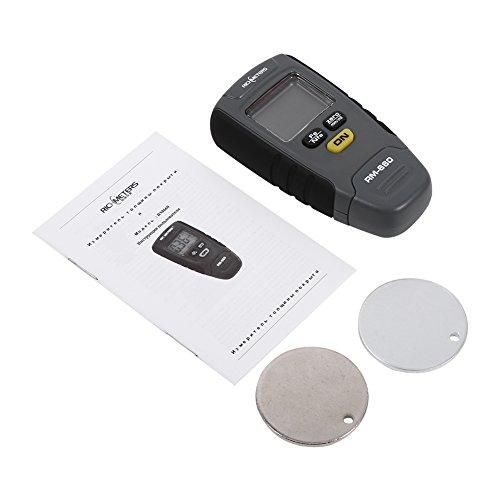 Messschieber Messgerät Stärke Digital-Lack-Beschichtung 0–1.25mm Metro Base Aluminium Eisen Auto Tester