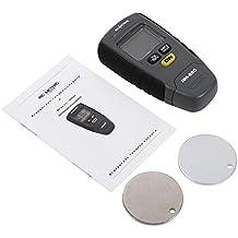 Auto medidor digital de espesor para pintura de revestimiento - Campo de medida: 0-1,25 mm - Metro con base de aluminio y hierro