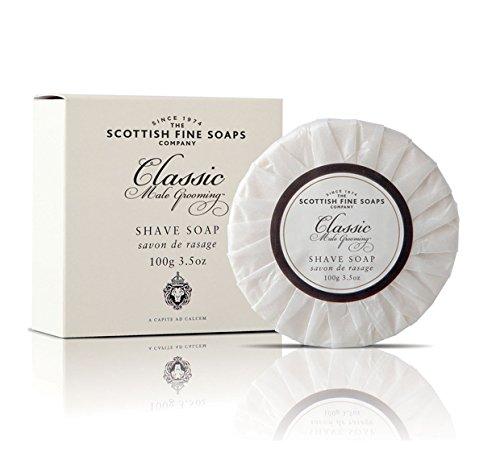 Toilettage masculin classique des savons fines écossais - rasage savon 100 g