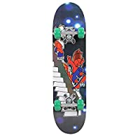 Complete Mini Cruiser Penny Skateboard 23 inch with Sturdy Deck and 4 Wheels for Adult Kids Beginners Girls Boys