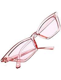 Ultra ligero de las mujeres Personalidad Lady s Cat Eyes Gafas de sol  pequeñas Gafas de sol f2fdd33a13