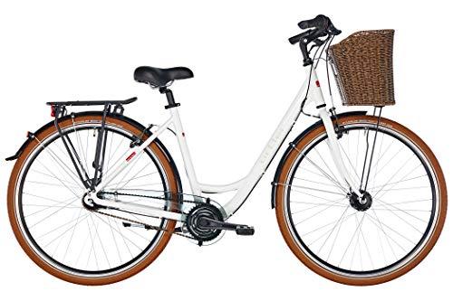 ORTLER Monet Damen weiß Glanz Rahmenhöhe 55cm 2019 Cityrad