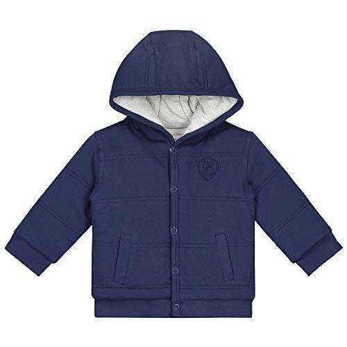 Prénatal Baby Jungen Sweatjacke mit Kapuze Baumwolle Indigo Blau Größe 56