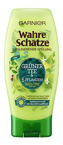 Garnier Wahre Schätze Spülung Grüner Tee, 6er Pack (6 x 200 ml)