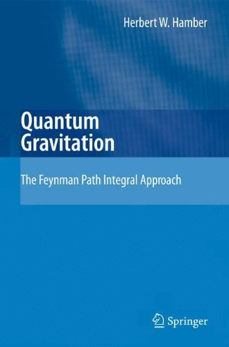 Quantum Gravitation: The Feynman Path Integral Approach by Herbert W. Hamber (2008-12-08)
