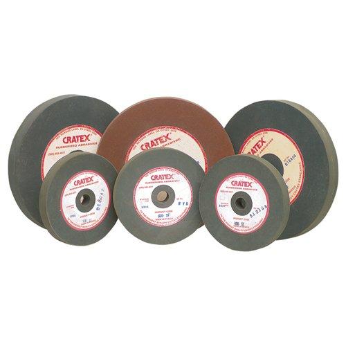 cratex gummiert Siliziumkarbid Schleifmittel groß gerade Räder Extra Fein–MFR #: 612x F Durchmesser: 15,2cm Stärke: 3/10,2cm Arbor Loch: 1/5,1cm