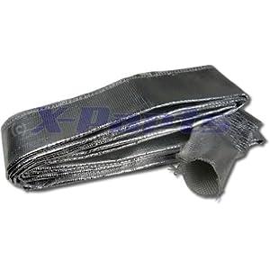 3M cavo in alluminio 50mm, protezione dal calore Tubo per benzina rivestimento Thermo (prezzo base: 9,63Euro pro metri.)